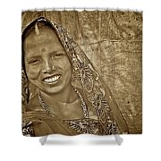 Bodhgaya Bride Shower Curtain