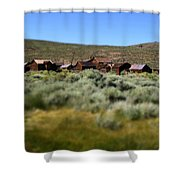 Bodie Ghost Town Landscape Shower Curtain