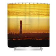 Bodie Island Lighthouse, Oregon Inlet Shower Curtain