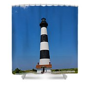 Bodie Island Lighthouse Outer Banks Shower Curtain