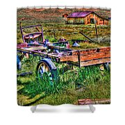 Bodie Vintage Flatbed Shower Curtain