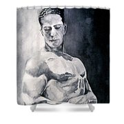 Body Building Shower Curtain