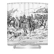 Boer War, 1899 Shower Curtain