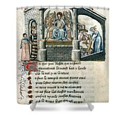 Boethius (c480-524) Shower Curtain