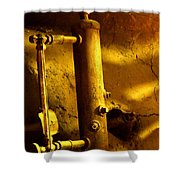 Boiler Room Shower Curtain
