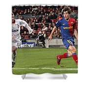 Bojan Krkic Stroke 2 Shower Curtain