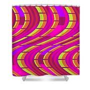 Bold Swirl  Shower Curtain