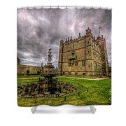 Bolsover Castle And Garden Shower Curtain