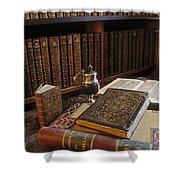 Bolton Library, Cashel, Co Tipperary Shower Curtain