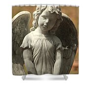 Bonaventure Angel 4 Shower Curtain