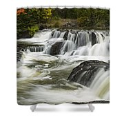 Bond Falls Upper 4 Shower Curtain