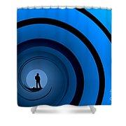 Bond Man Shower Curtain