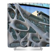 Bond Street Sculpture Shower Curtain