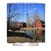 Bonneyville Mill Shower Curtain