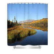 Bonnie Lake Shower Curtain