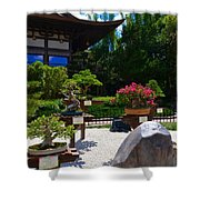 Bonsai Garden Shower Curtain
