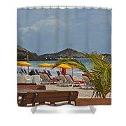 Boo Boo Jam Beach Shower Curtain