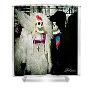 Boo-tiful Couple Shower Curtain