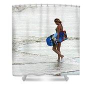 Boogie Board 0669b Shower Curtain