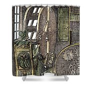Bookwheel, 1588 Shower Curtain