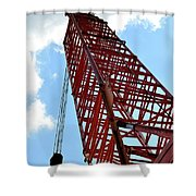 Boom Tower Shower Curtain