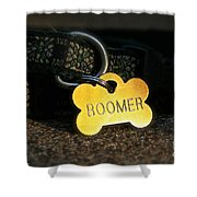 Boomer Gear Shower Curtain