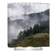 Boquete Highlands Shower Curtain