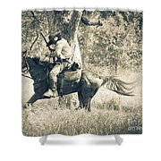 Born To Ride Shower Curtain
