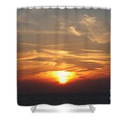 Bosphorus Sunset Marmara Sea Shower Curtain