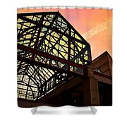 Boston - Faneuil Hall Market Place Shower Curtain