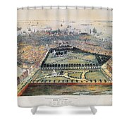 Boston, 1850 Shower Curtain