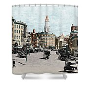 Boston: Bowdoin Square Shower Curtain