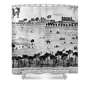 Boston Common, 1768 Shower Curtain
