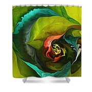 Botanical Fantasy 011512 Shower Curtain
