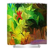 Botanical Fantasy 091612 Shower Curtain