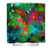 Botanical Fantasy 103112 Shower Curtain