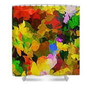 Botanical Fantasy 110512 Shower Curtain