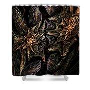 Botanical Fantasy 123011 Shower Curtain