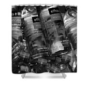Bottles Of Water Shower Curtain