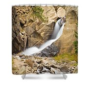 Boulder Colorado Boulder Falls Shower Curtain