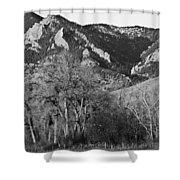 Boulder Colorado Front Range Ncar View Shower Curtain