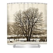 Boulder County Shower Curtain