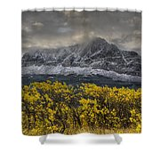 Boulder Ridge Shower Curtain