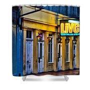Bourbon Live - French Quarter Shower Curtain