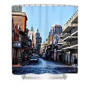 Bourbon Street By Day Shower Curtain