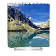 Bow Lake,alberta,canada Shower Curtain
