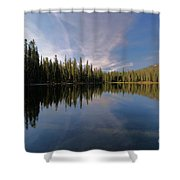 Bow Tie In The Sky Shower Curtain