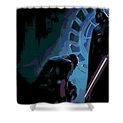 Bow To The Dark Side Shower Curtain