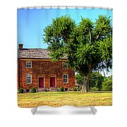 Bowen Plantation House Shower Curtain by Barry Jones