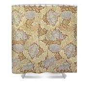 Bower Wallpaper Design Shower Curtain